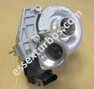 BMW Turbo with Electronic Actuator